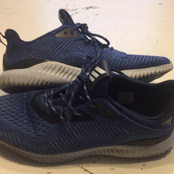 le adidas alpha salta blu e grigio mens 10 poshmark
